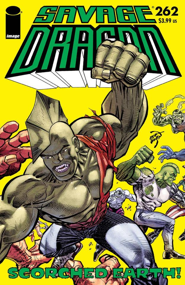 Savage Dragon #262 (Larsen Cover)
