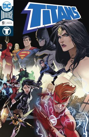 Titans #19 (Variant Cover)