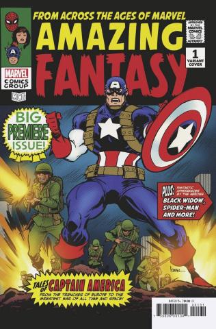 Amazing Fantasy #1 (Andrews Cover)