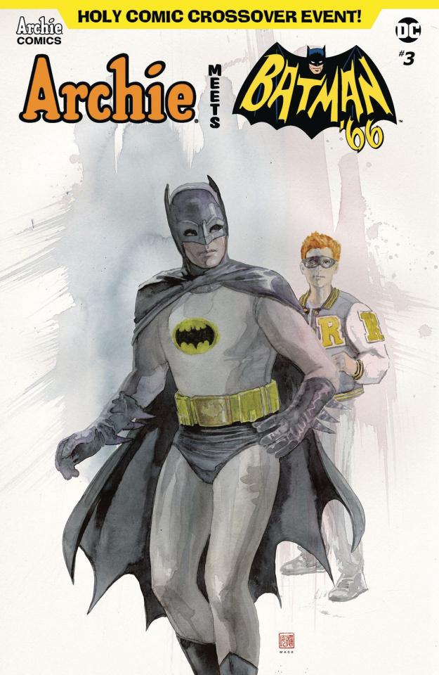 Archie Meets Batman '66 #3 (Mack Cover)