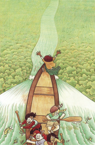 Lumberjanes #21 (20 Copy Gillman Cover)