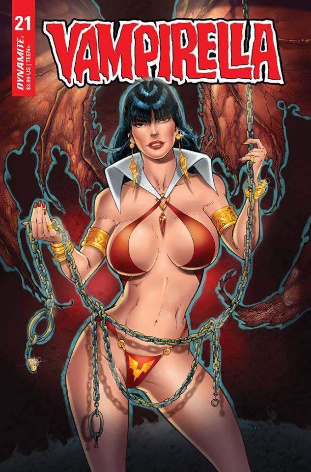 Vampirella #21 (Premium R.B. White Cover)