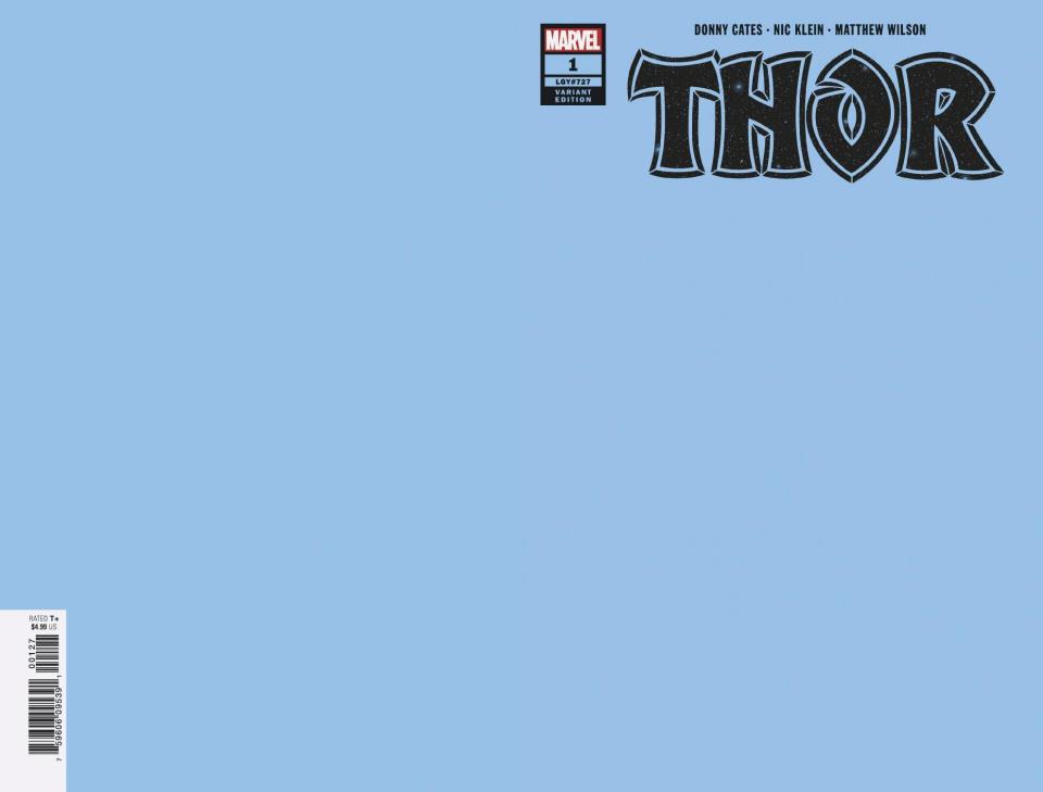 Thor #1 (Blue Cover)