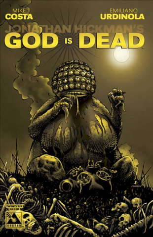 God Is Dead #26 (Gilded Retailer Cover)