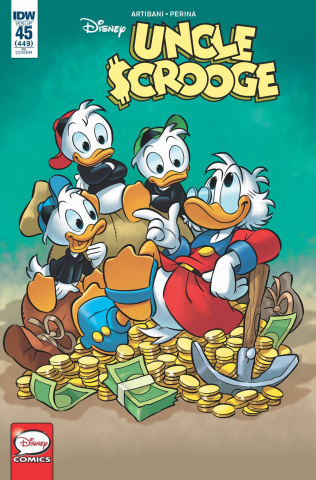 Uncle Scrooge #45 (10 Copy Perina Cover)