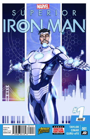 Superior Iron Man #1 (2nd Printing)