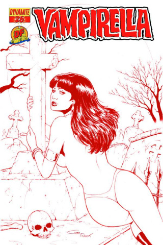 Vampirella #26 (Risque Red Cover)
