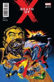 Death of X #4 (Hildebrandt Classic Cover)
