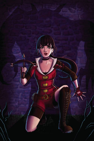 Vampirella #4 (Rare Zullo Virgin Cover)