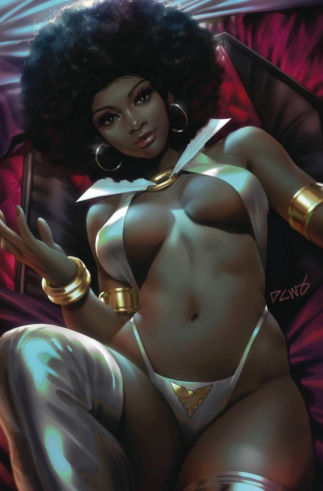 Sacred Six #7 (25 Copy Chew Virgin Cover)