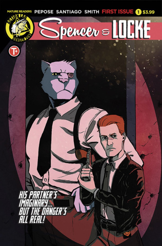 Spencer & Locke #1 (Santiago Jr. Cover)