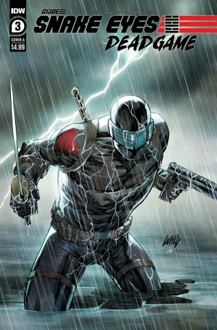 Snake Eyes: Deadgame #3 (Liefeld Cover)