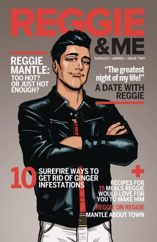 Reggie and Me #2 (Chip Zdarsky Cover)