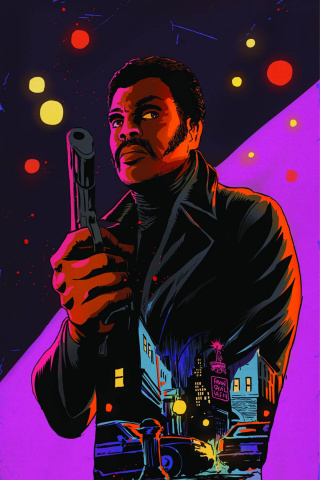 Shaft #1 (Rare Francavilla Virgin Art Cover)