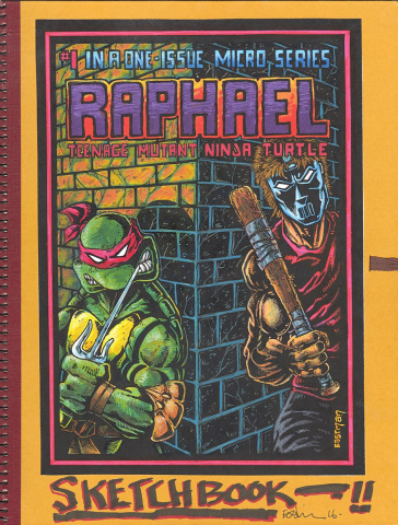 Teenage Mutant Ninja Turtles: Kevin Eastman Notebook Series - Raphael