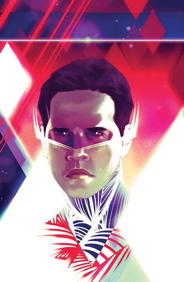 Mighty Morphin #11 (Unlockable Montes Cover)