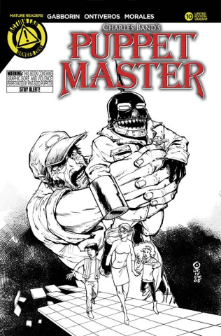 Puppet Master #10 (Sketch Cover)