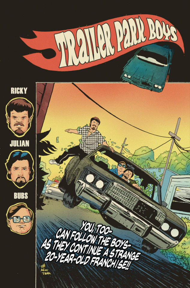 Trailer Park Boys: Bagged & Boarded (Hymel Cover)