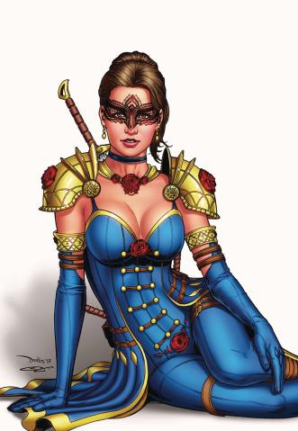 Belle: Beast Hunter #1 (Santacruz Cover)