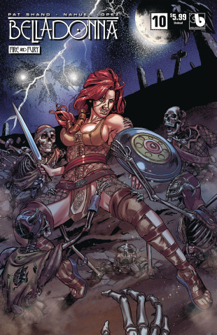 Belladonna: Fire and Fury #10 (Undead Cover)