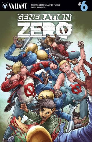 Generation Zero #6 (Ryp Cover)
