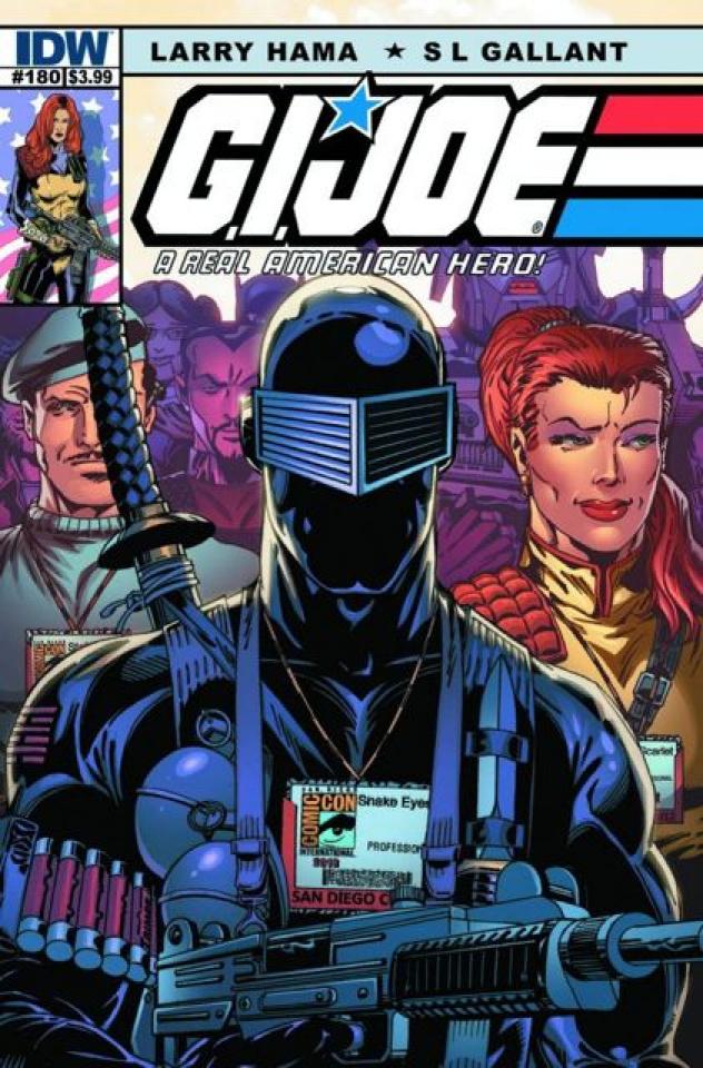 G.I. Joe: A Real American Hero #180