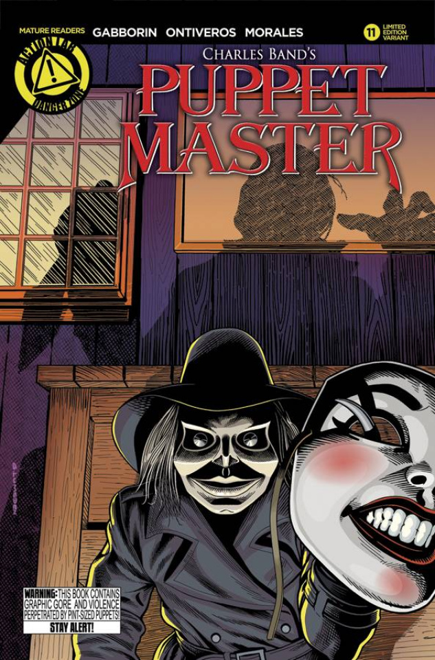 Puppet Master #11 (Lumsden Cover)