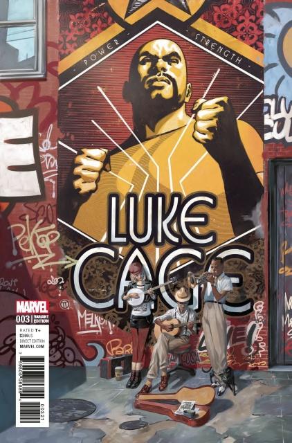 Luke Cage #3 (Tedesco Cover)