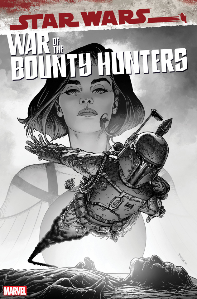 Star Wars: War of the Bounty Hunters #5 (McNiven Carbonite Cover)