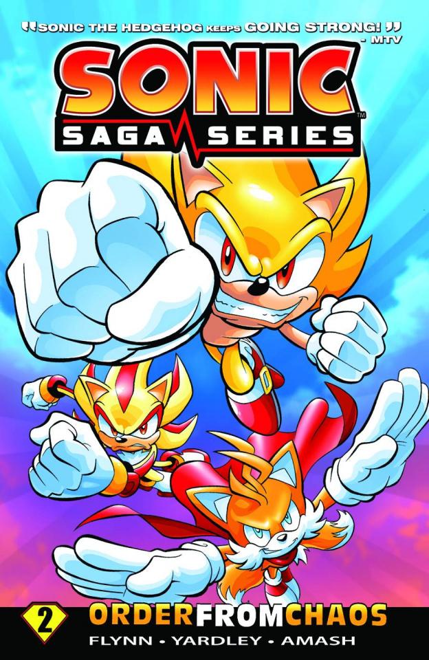 Sonic Saga Vol. 2: Order From Chaos