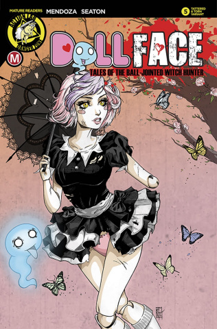 Dollface #5 (Turner Pin Up Tattered & Torn Cover)