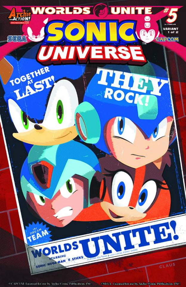 Sonic Universe #77 (Super Group Cover)