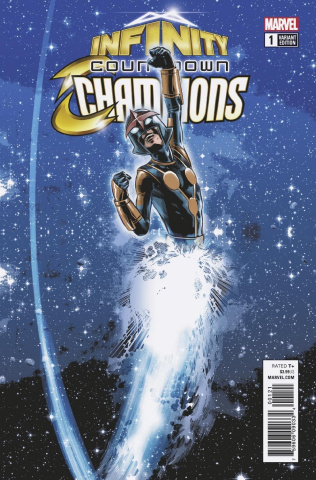 Infinity Countdown: The Champions #1 (Deodato Cover)