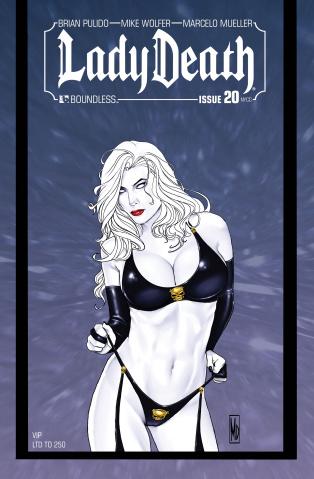 Lady Death #20 (NY VIP Cover)