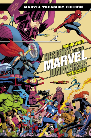 History of the Marvel Universe (Treasury Edition Rodriguez Cover)