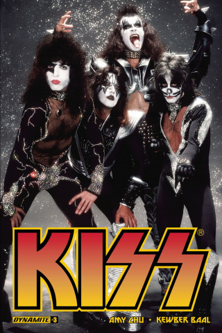 KISS #3 (Photo Cover)