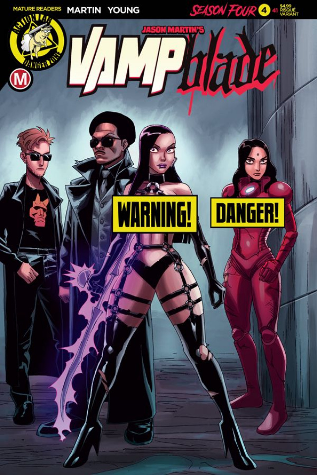 Vampblade, Season Four #4 (Young Risque Cover)