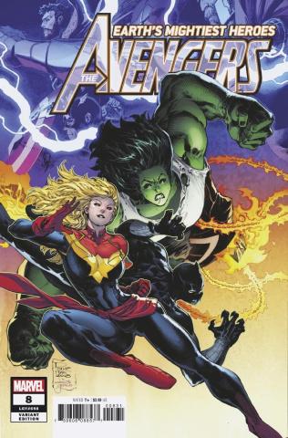 Avengers #8 (Tan Cover)
