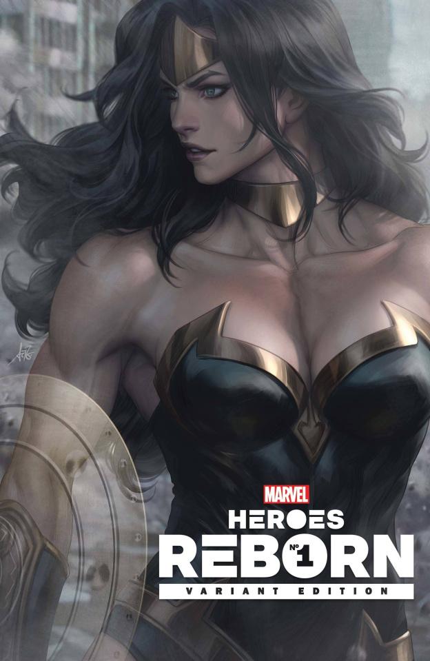 Heroes Reborn #1 (Artgerm Cover)