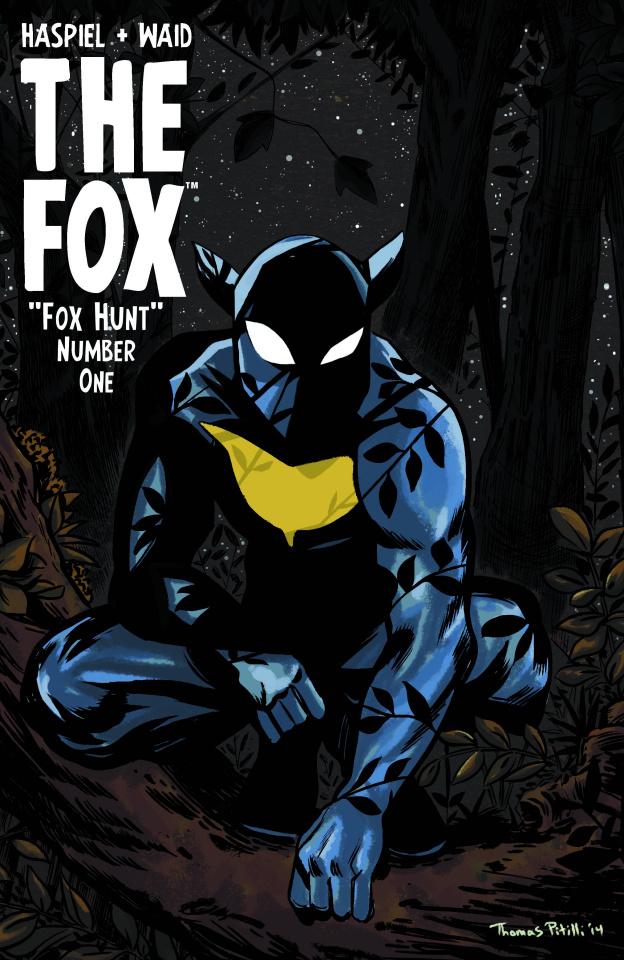 The Fox #1 (Pitilli Cover)