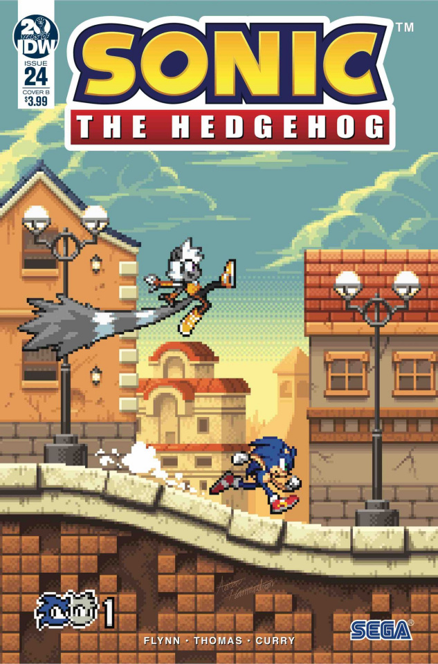 Sonic the Hedgehog #24 (Hammerstrom Cover)