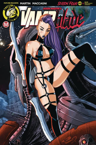 Vampblade, Season Four #12 (Rudetoons Reynolds Cover)