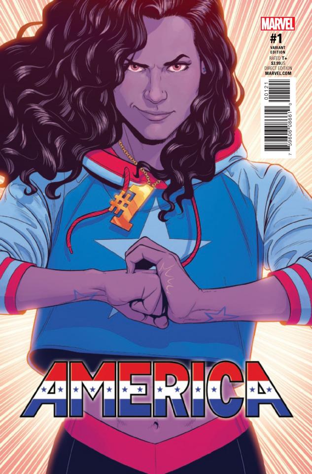 America #1 (McKelvie Cover)