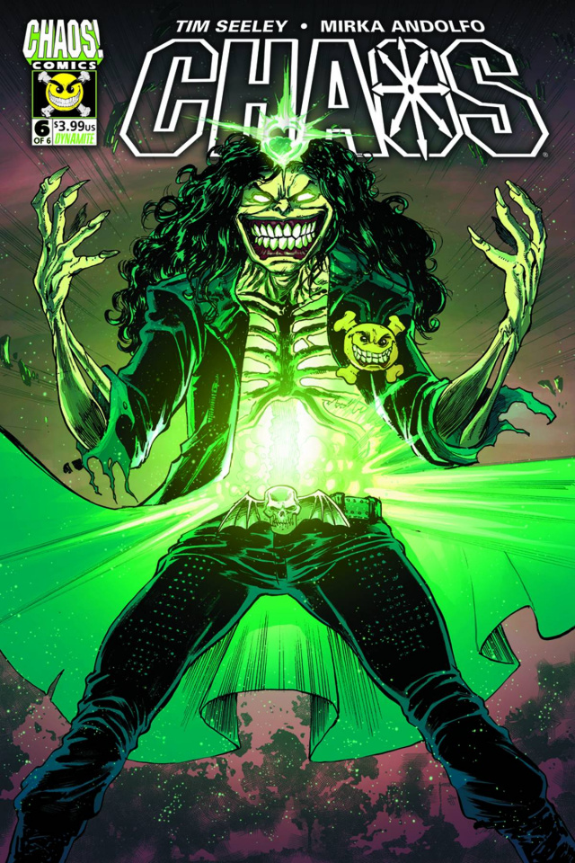 Chaos #6 (Seeley Cover)