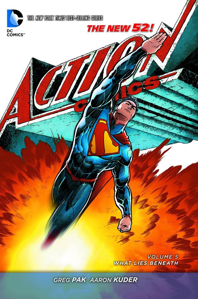 Action Comics Vol. 5: What Lies Beneath
