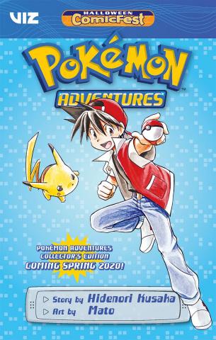 Pokémon Adventures (Halloween Comic Fest)