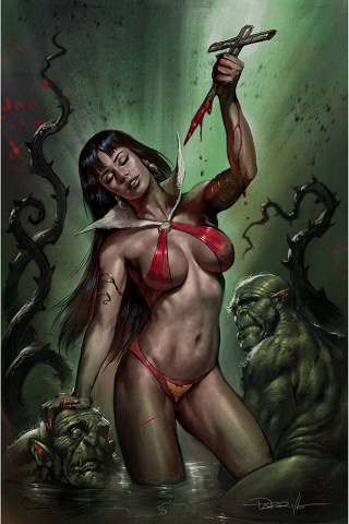Vampirella #18 (Parrillo Virgin Cover)