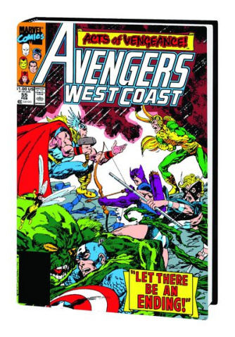 Acts of Vengeance Omnibus John Byrne Cover