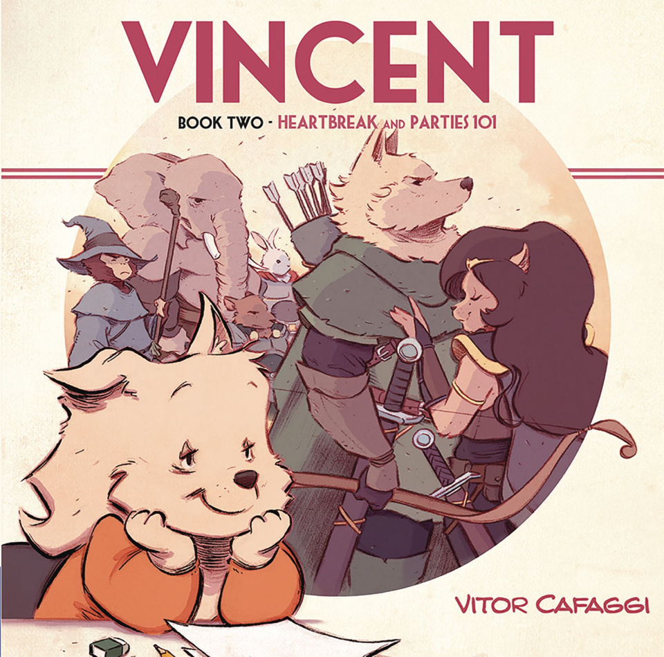 Vincent Book 2: Heartbreak and Parties 101