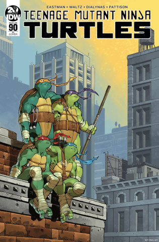 Teenage Mutant Ninja Turtles #90 (10 Copy Daniel Cover)